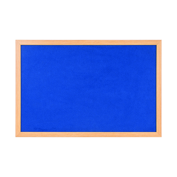 Other Bi-Office Earth Felt Notice Board 1200x900mm Blue RFB1443233