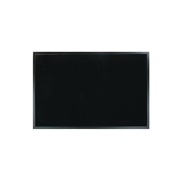 Bi-Office Softouch Surface Noticeboard 900x600mm Black FB0736169