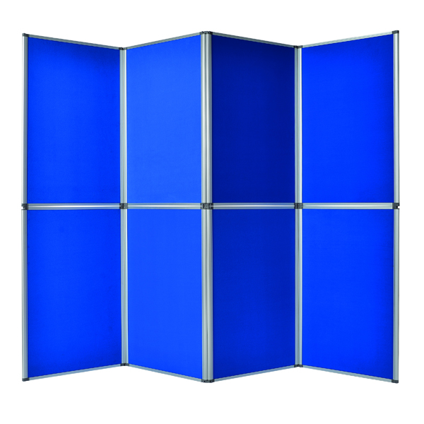 Unspecified Bi-Office Display System 6 Panel Blue DSP340116