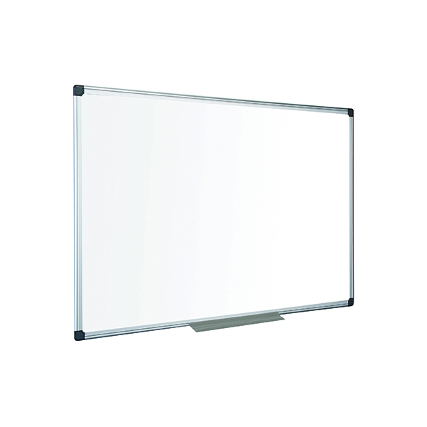 Non-Magnetic Bi-Office Maya Non-Magnetic Melamine Whiteboard 1500x1000mm MA1512170