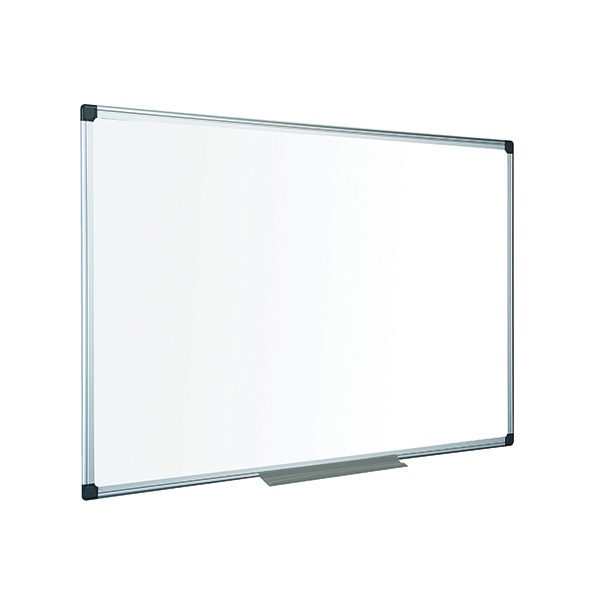 Non-Magnetic Bi-Office Aluminium Trim Drywipe Board 1800x1200mm MB2712170
