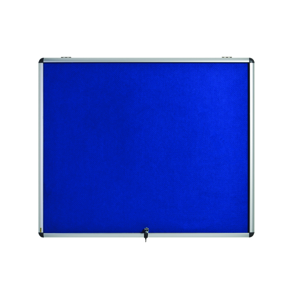 Glazed Bi-Office Fire Retardant 1310x903mm 18xA4 Display Case ST390101150