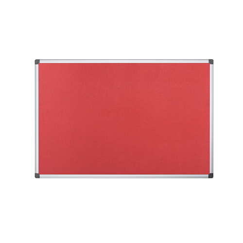 Felt Bi-Office 900x600mm Red Felt Board FA0346170