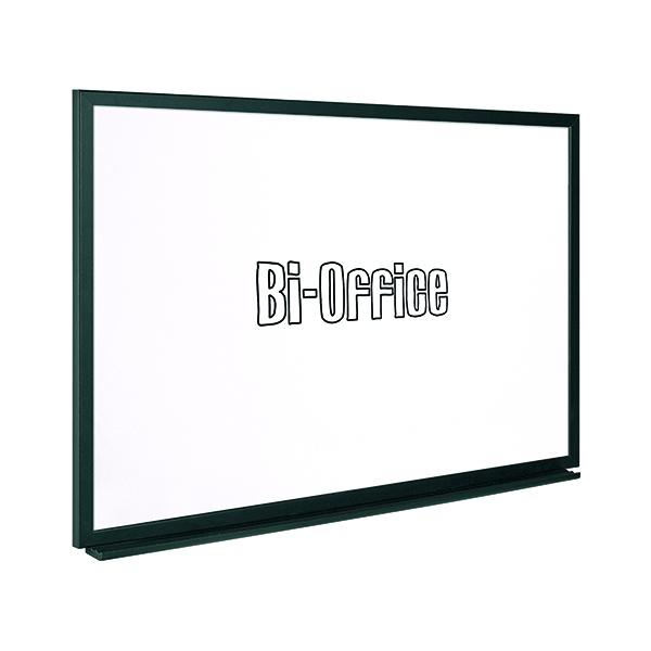 Bi-Office Black Frame Drywipe Board 600x450mm MB0400169