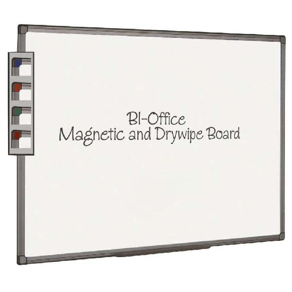 Magnetic  Bi-Office Aluminium Finish Magnetic Board 2400x1200mm MB8606186