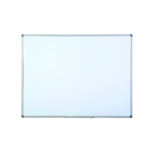 Non-Magnetic Bi-Office Aluminium Finish Drywipe Board 1200x900mm MB1412186