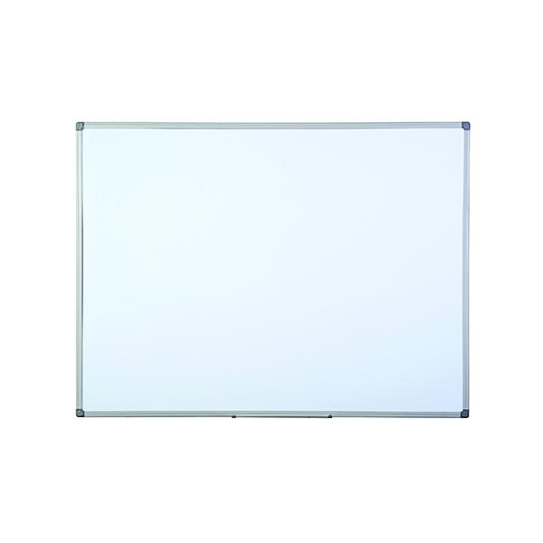 Bi-Office Aluminium Finish Drywipe Board 600x450mm MB0412186