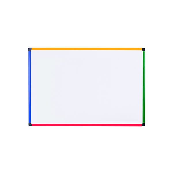 Bi-Office Magnetic Drywipe Board 600 x 450mm MB0407866