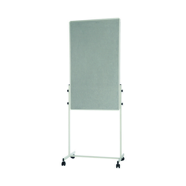 Unspecified Bi-Office White Portable Duo Board and Flipchart Easel EA4724075