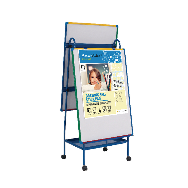 Magnetic  Bi-Office Schoolmate Creation Station Easel and Multivision Drawing Pad EA49145026