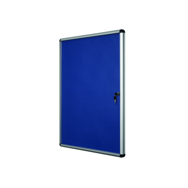 Glazed Bi-Office Lockable Internal Display Case 931x670mm VT630107150