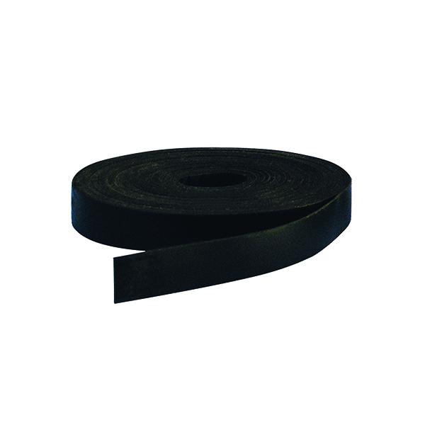 Pen Tray Bi-Office Magnetic Tape 10mmx5m Black FM01015