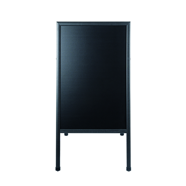 Bi-Office A-Frame Chalkboard 600x1200mm Black DKT30404042