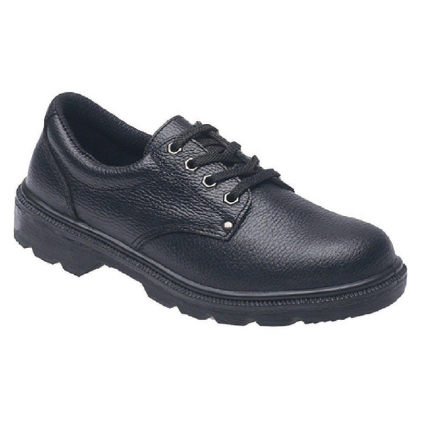Shoes Briggs Industrial Toesavers S1P Black Safety Shoe Size 4 2414BK040