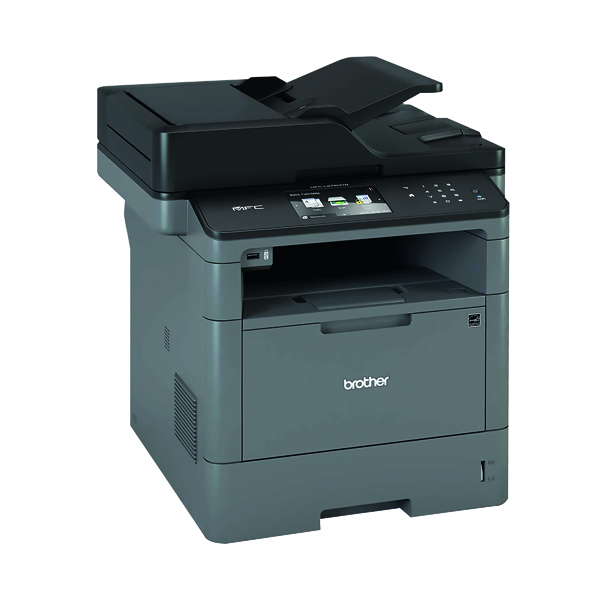 Multifunctional Machines Brother Mono Multifunction Laser Printer MFC-L5750DW Grey MFC-L5750DW