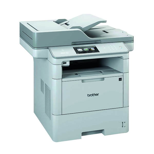 Multifunctional Machines Brother Mono Multifunction Laser Printer MFC-L6800DW Grey MFC-L6800DW