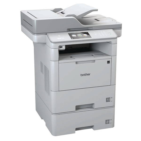 Multifunction Machines Brother Mono Multifunction Laser Printer MFC-L6800DWT Grey MFC-L6800DWT