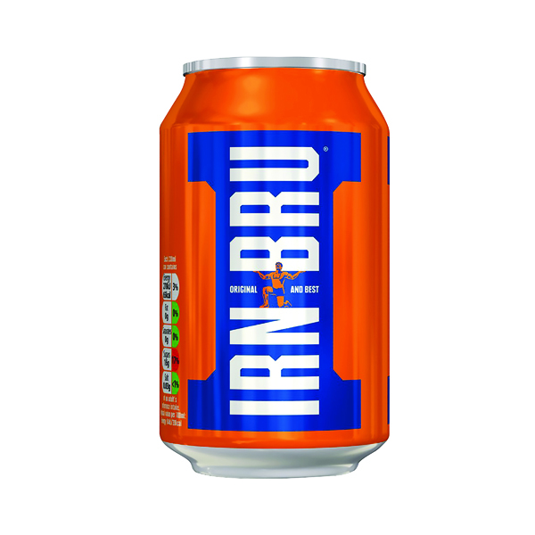 Cold Drinks Irn Bru 330ml Cans (24 Pack) 982601