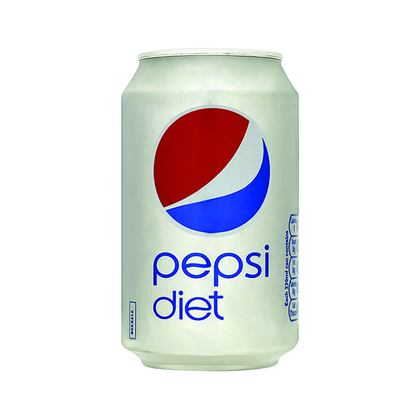 Cold Drinks Diet Pepsi Cola Cans 330ml (24 Pack) 202428