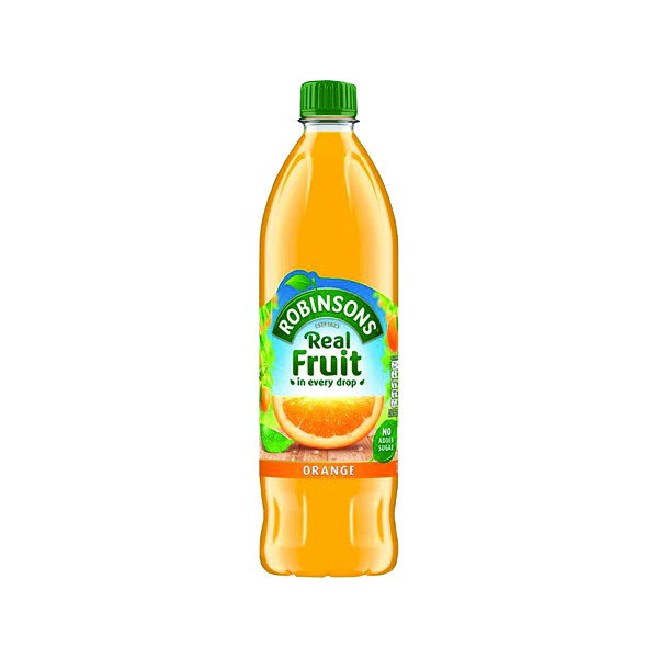 Cold Drinks Robinsons Orange Squash No Sugar 1 Litre 4113