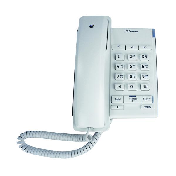 Telephones BT Converse 2100 White Corded Phone 040205