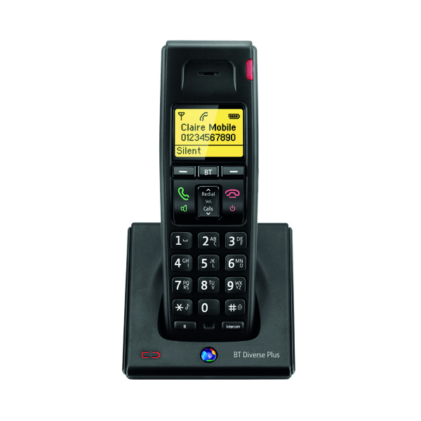 Telephones BT Diverse 7100 R DECT Cordless Phone Additional Handset 060748