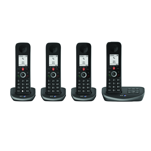 Telephones BT Advanced DECT TAM Phone Quad 90641