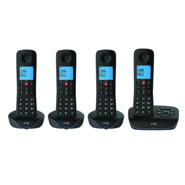 Telephones BT Essential DECT TAM Phone Quad 90660