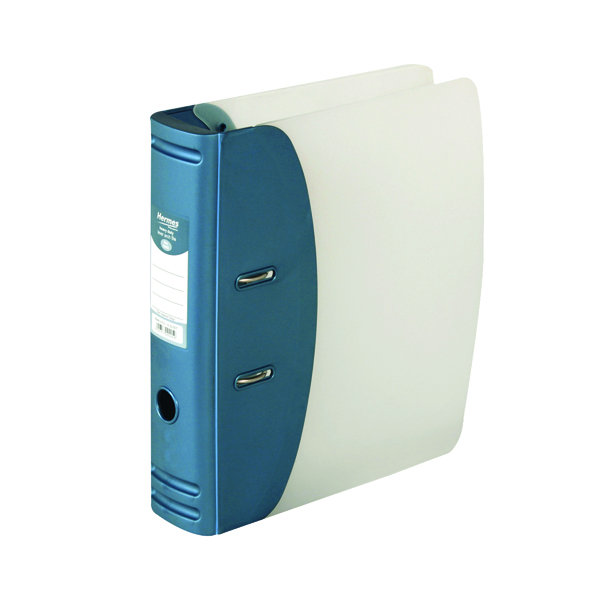 Hermes Heavy Duty Lever Arch File A4 Blue 832007