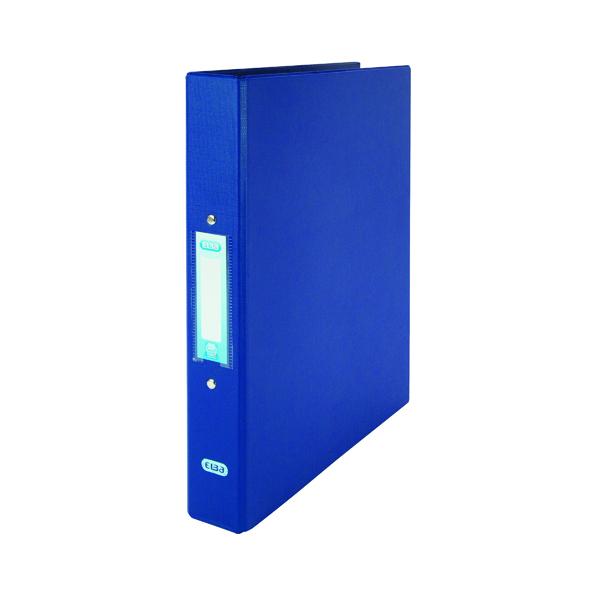 Elba Blue A4 2 Ring Binder 25mm (10 Pack) 400001508