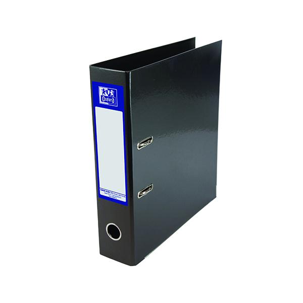 A4 Size Elba Classy 70mm Lever Arch File A4 Black 400020889