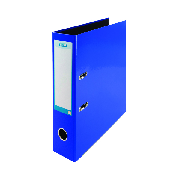 Elba Classy 70mm Lever Arch File A4 Blue 400021003