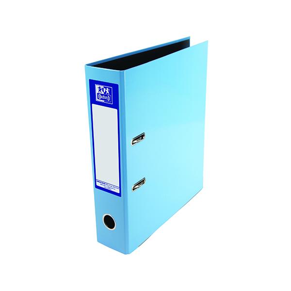 A4 Size Elba Classy 70mm Lever Arch File A4 Metallic Blue 400021023