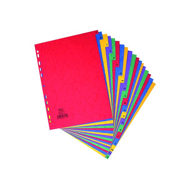 Dividers Elba A-Z Pressboard Index A4 400007514