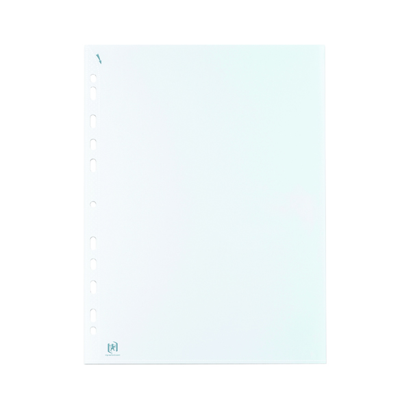 Unspecified Elba Quick In Punched Pockets A4 Clear (100 Pack) 400012939