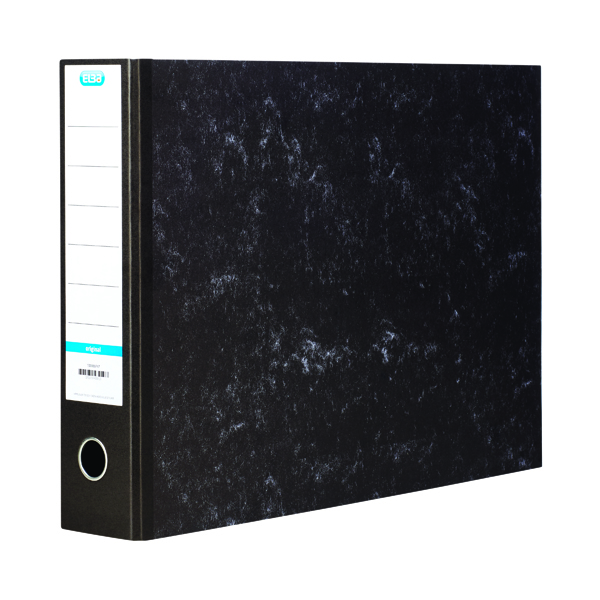 A3 Size Elba 70mm Lever Arch File Oblong A3 Black 100080747