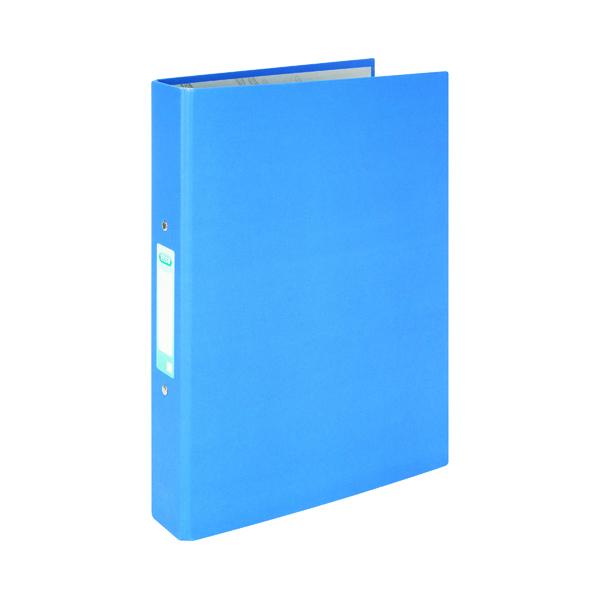 Elba A4 Blue 25mm Paper Over Board Ring Binder (10 Pack) 400033496