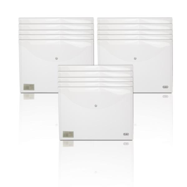 Elba Snap Wallet Polypropylene A4 Clear 3FOR2 (2 + 1 Pack) BX810410