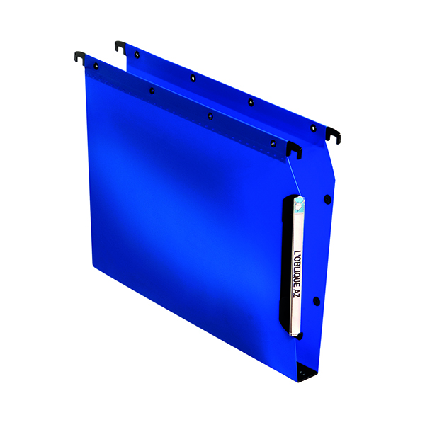 Lateral File Elba Lateral File PP 30mm A4 Blue (25 Pack) 100330584