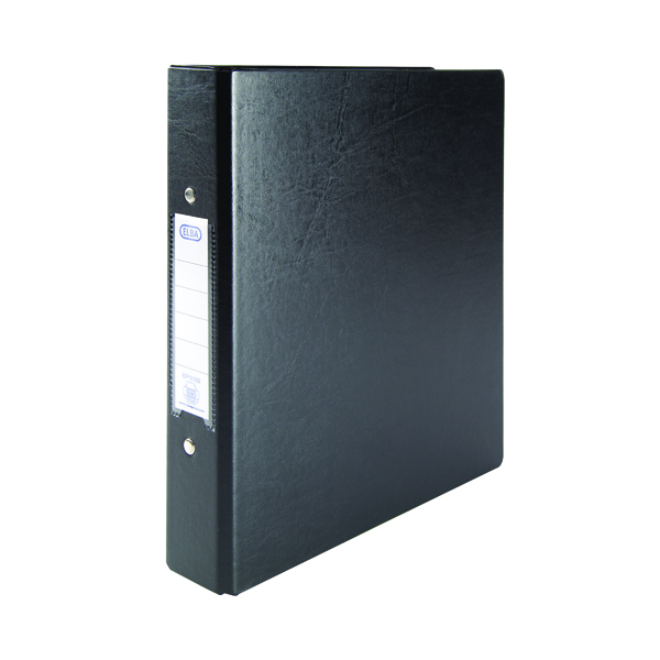 A5 Size Elba 25mm 2 O-Ring Binder A5 Black (10 Pack) 100082442