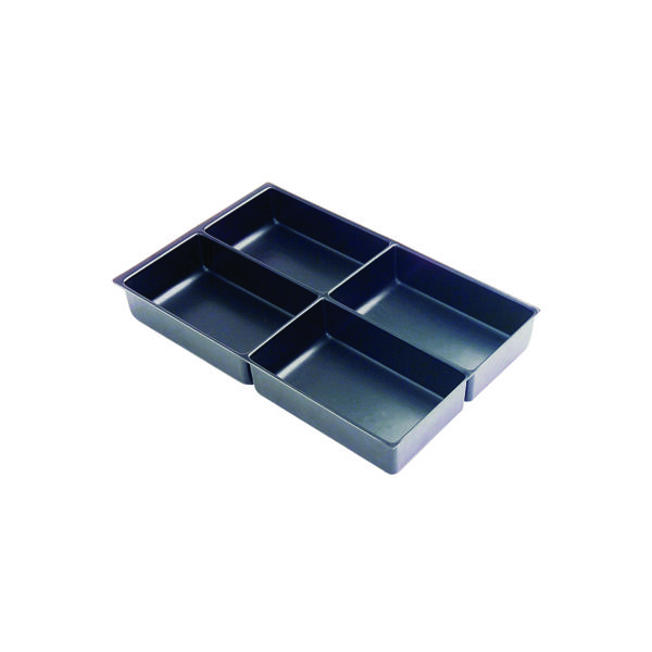 Furniture Accessories Bisley Multi Drawer Insert Tray Plastic 4 Compartments 227P5