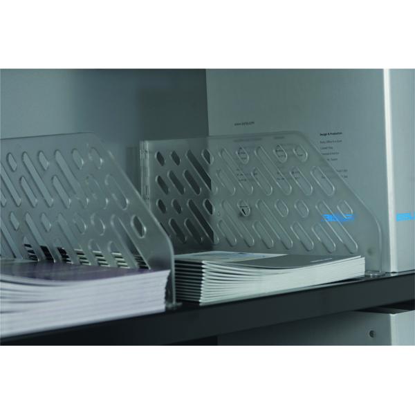 Bisley Shelf Divider Plastic Clear BSDP5 (5 Pack) SHDC85P5PS