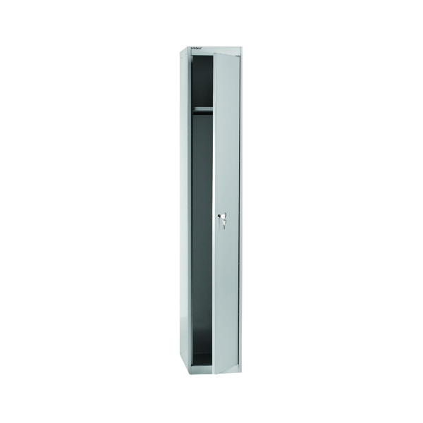 Cupboards H over 1200mm Bisley 1 Door Locker D457mm Goose Grey BY09215