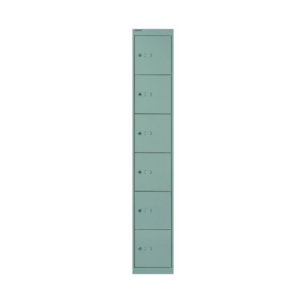 Lockers Bisley 6 Door Locker D457mm Goose Grey BY09217