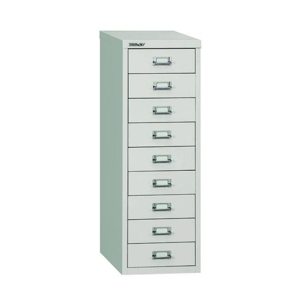 Bisley 9 Drawer A4 Cabinet Grey H399NL-073