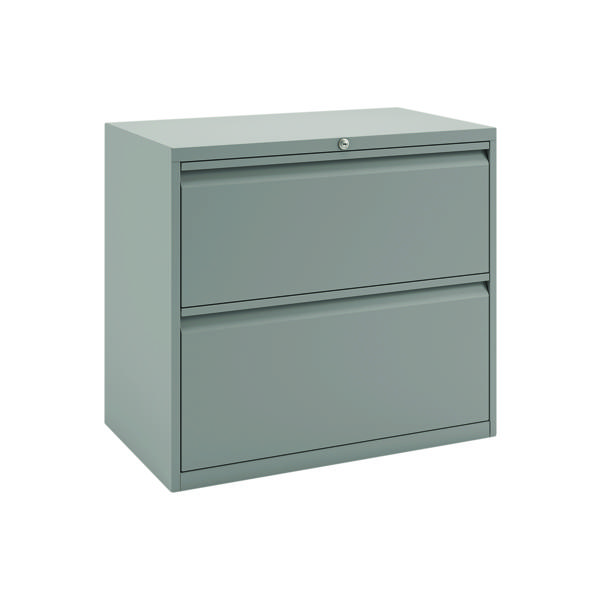Two-Drawer Bisley 2 Drawer Unit Goose Grey BY74760