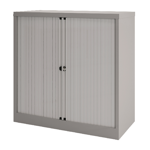 Bisley Tambour 733mm One Shelf Goose Grey BY74775