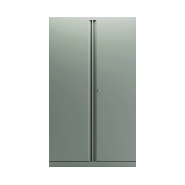 Cupboards H over 1200mm Bisley 2 Door 1570mm Cupboard Empty Goose Grey KF78712