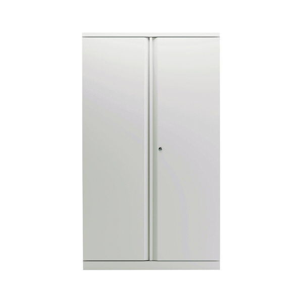 Cupboards H over 1200mm Bisley 2 Door 1570mm Cupboard Empty Chalk White KF78713