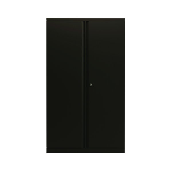 Cupboards H over 1200mm Bisley 2 Door 1570mm Cupboard Empty Black KF78714